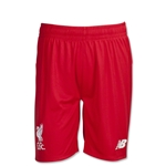 Liverpool 15/16 Youth Home Soccer Short