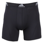 adidas Sport Performance Boxer Briefs 2-Pack (Black)