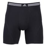 adidas Athletic Stretch 2-Pack Boxer Brief (Black)