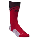 adidas Traxion Impact Crew Sock (Red/Blk)