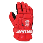 Brine King Superlight II Lacrosse Gloves (Red)