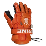 Brine King Superlight II Lacrosse Goalie Gloves (Orange)