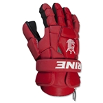Brine King Superlight II Lacrosse Goalie Gloves (Red)