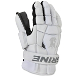 Brine King Superlight II Lacrosse Goalie Gloves (White)