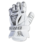 Brine King V Lacrosse Gloves (White)