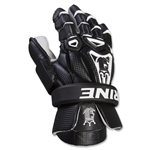Brine King V Lacrosse Goalie Gloves (Black)