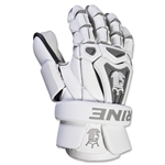Brine King V Lacrosse Goalie Gloves (White)