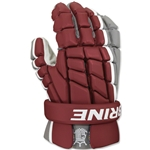 Brine Clutch Lacrosse Gloves (Maroon)