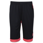 adidas Girls Tastigo 15 Short (Blk/Red)