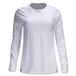 Nike Women's All-Purpose Long Sleeve T-Shirt (White)