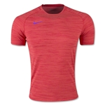 Nike Flash DF Knit Training Top (Red)