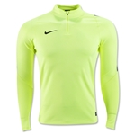 Nike Ignite Long Sleeve Midlayer Top (Neon Yellow)