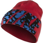 Nike NSW Camo Spill Beanie (Red)