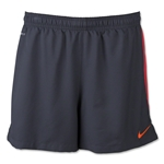 Nike Squad Woven Short 15 (Gray/Red)