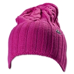 Nike NSW Women's Cable Knit Beanie (Fuchsia)