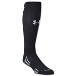 Under Armour Striker Soccer OTC Sock (Blk/Wht)