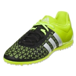 adidas ACE 15.3 TF Junior (Core Black/White/Solar Yellow)