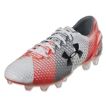 Under Armour ClutchFit Force FG (White/Steel/After Burn)