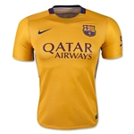 Barcelona 15/16 Authentic Away Soccer Jersey