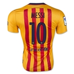 Barcelona 15/16 MESSI Authentic Away Soccer Jersey