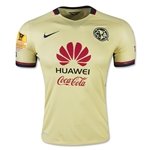 Club America 15/16 Authentic Home Soccer Jersey w/ CCL Patch