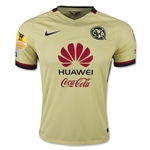 Club America 15/16 Home Soccer Jersey w/ CCL Patch