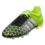 adidas ACE 15.1 FG/AG Junior (Black/White/Solar Yellow)