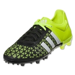 adidas ACE 15.3 FG/AG Junior (Black/White/Solar Yellow)
