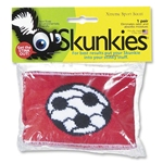 Skunkies Soccer Cleat Odor Eliminators (Red)
