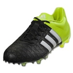 adidas ACE 15.2 FG/AG (Black/White/Solar Yellow)