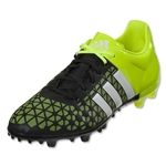 adidas ACE 15.3 FG/AG (Black/White/Solar Yellow)
