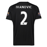 Chelsea 15/16  2 IVANOVIC Third Soccer Jersey