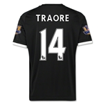 Chelsea 15/16 14 TRAORE Third Soccer Jersey