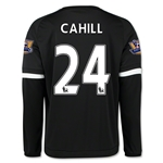 Chelsea 15/16 24 CAHILL LS Third Soccer Jersey