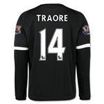 Chelsea 15/16 14 TRAORE LS Third Soccer Jersey