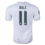 Real Madrid 15/16 BALE UCL Home Soccer Jersey