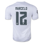 Real Madrid 15/16 MARCELO UCL Home Soccer Jersey