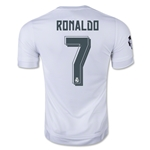 Real Madrid 15/16 RONALDO UCL Home Soccer Jersey