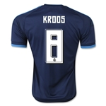 Real Madrid 15/16 KROOS Third Soccer Jersey