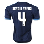 Real Madrid 15/16 SERGIO RAMOS Third Soccer Jersey