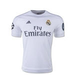 Real Madrid 15/16 Youth UCL Home Soccer Jersey