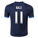 Real Madrid 15/16 BALE Youth Third Soccer Jersey