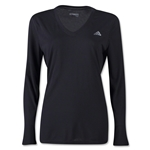 adidas Women's Ultimate LS T-Shirt (Black)