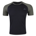 adidas Ultimate Two Tone T-Shirt (Blk/Green)