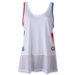 adidas Women's Originals LA Logo Tank (White)