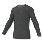 adidas Team Issue Fitted Base LS Top (Gray)
