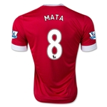 Manchester United 15/16 MATA Authentic Home Soccer Jersey