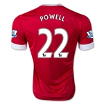 Manchester United 15/16 POWELL Authentic Home Soccer Jersey