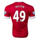 Manchester United 15/16 WILSON Authentic Home Soccer Jersey