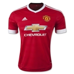 Manchester United 15/16 Home Soccer Jersey